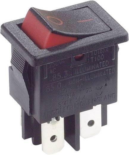 Arcolectric H8550XBAAA Wipschakelaar 250 V/AC 10 A 2x uit/aan vergrendelend 1 stuks