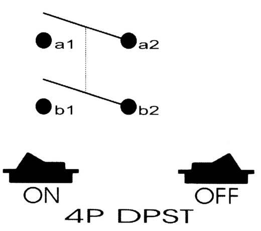 SCI R13-537A B/R/G Druktoets 250 V/AC 10 A 2x uit/aan vergrendelend 1 stuks