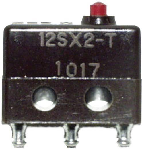 Honeywell 12SX2-T Microschakelaar 125 V/AC 1 A 1x aan/(aan) schakelend 1 stuks