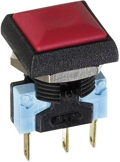 APEM IRC3S432 Druktoets 48 V/DC 0.2 A 1x uit/(aan) IP67 schakelend 1 stuks
