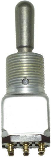 Honeywell 12TW1-5 Tuimelschakelaar 125 V/AC 5 A 2x (aan)/uit/aan schakelend/0/vergrendelend 1 stuks