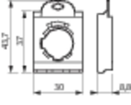 BACO 333E Adapterplaat 3-weg 1 stuks