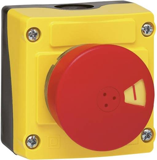Paddestoelschakelaar In behuizing 240 V/AC 2.5 A 3x NC BACO LBX13103 IP66 1 stuks