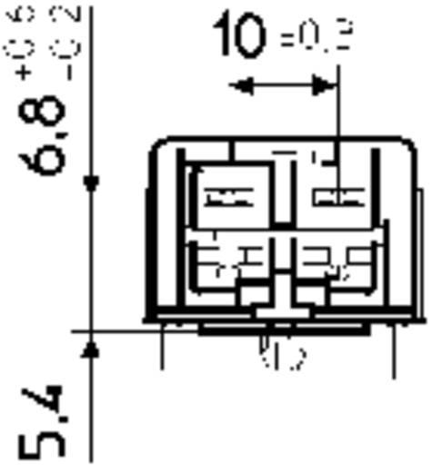 Stelvio Chiapponi MSB 2000 Netschakelaar, Drukschakelaar 250 V/AC 4 A 2x uit/aan vergrendelend 1 stuks