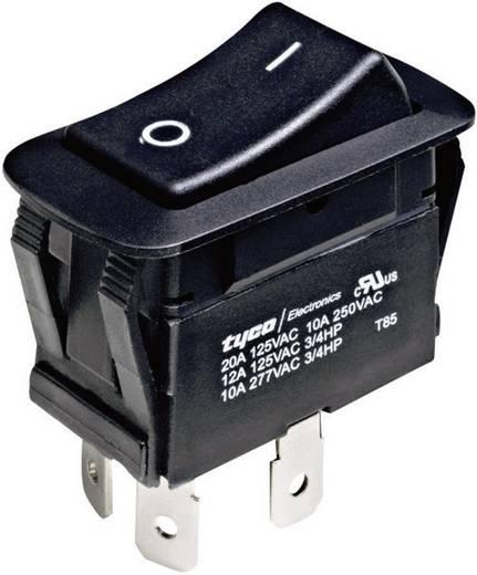 TE Connectivity 1571095-2 Wipschakelaar 250 V/AC 10 A 1x uit/aan vergrendelend 1 stuks