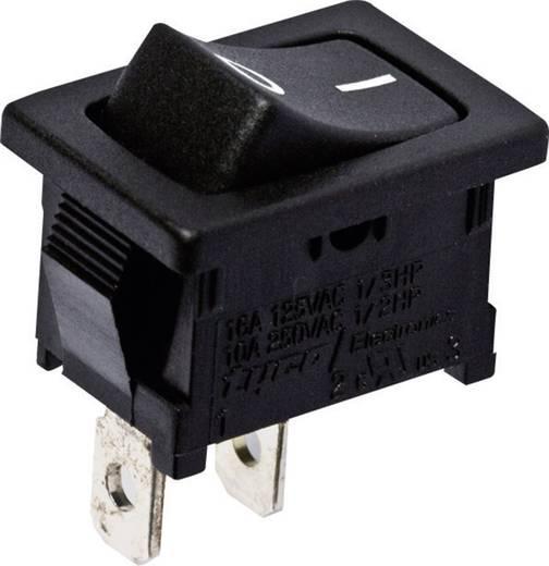 TE Connectivity 1-1571076-0 Wipschakelaar 250 V/AC 10 A 1x uit/aan vergrendelend 1 stuks