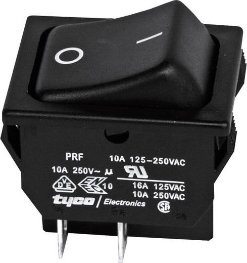 TE Connectivity 1634201-2 Wipschakelaar 250 V/AC 10 A 2x uit/aan vergrendelend 1 stuks