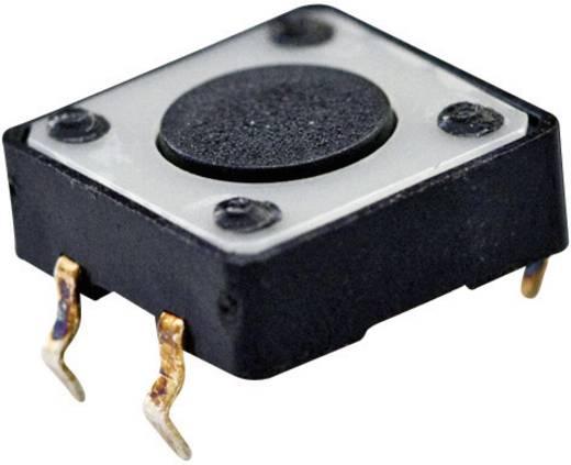 TE Connectivity 1437565-2 Druktoets 24 V/DC 0.05 A 1x uit/(aan) schakelend 1 stuks