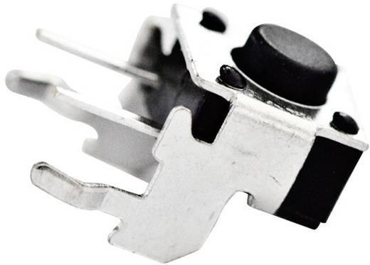 TE Connectivity 1-1825027-1 Druktoets 24 V/DC 0.05 A 1x uit/(aan) schakelend 1 stuks
