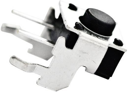 TE Connectivity 1825027-5 Druktoets 24 V/DC 0.05 A 1x uit/(aan) schakelend 1 stuks