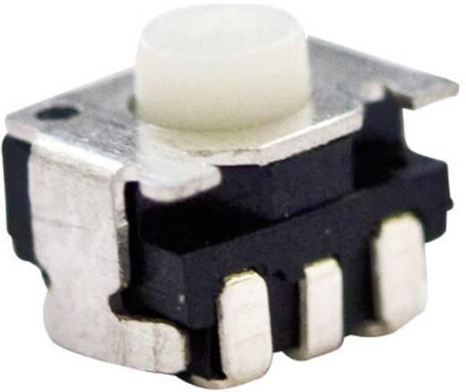 TE Connectivity 1977066-1 Druktoets 24 V/DC 0.05 A 1x uit/(aan) schakelend 1 stuks
