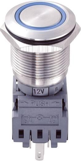 LAS1-BGQ-11E/B/12V Vandalismebestendige druktoets 250 V/AC 5 A 1x uit/(aan) IP67 schakelend 1 stuks