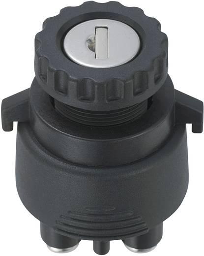 SCI K3-33 Sleutelschakelaar 12 V/DC 15 A 2x aan/uit/aan/(aan) 1 x 30 ° 1 stuks