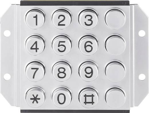 031-0007-3P Druktoetsenveld Met extra knoppen Keypad matrix 4 x 4 1 stuks