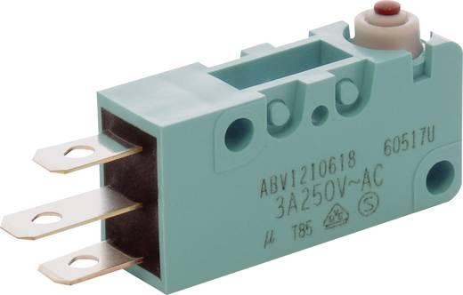 Panasonic ABV1210618J Microschakelaar 250 V/AC, 30 V/DC 3 A 1x aan/(aan) IP67 schakelend 1 stuks