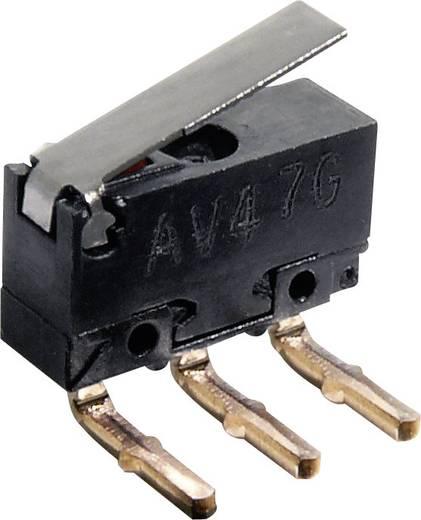 Panasonic AV462461J Microschakelaar 30 V/DC 0.5 A 1x aan/(aan) IP40 schakelend 1 stuks
