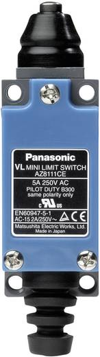 Panasonic AZ8111CEJ Eindschakelaar 115 V/DC, 250 V/AC 5 A Stoter schakelend IP64 1 stuks