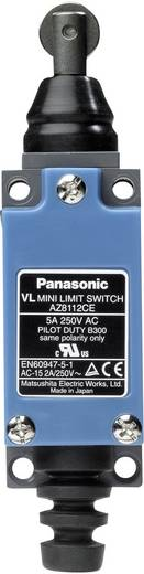 Panasonic AZ8112CEJ Eindschakelaar 115 V/DC, 250 V/AC 5 A Rolstoter schakelend IP64 1 stuks