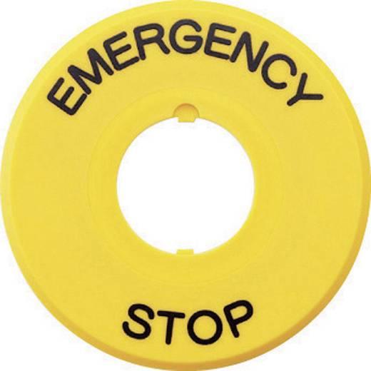 Idec HAAV-27 Opdrukmotief EMERGENCY STOP 1 stuks