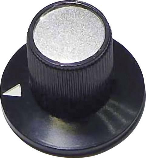 23/12 Draaiknop Zwart (Ø x h) 23 mm x 17 mm 1 stuks