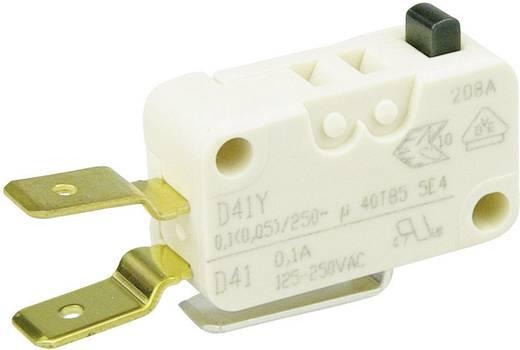 Cherry Switches D413-V3AA Microschakelaar 250 V/AC 0.1 A 1x aan/(aan) schakelend 1 stuks