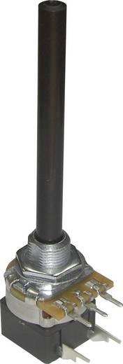 Potentiometer Service GmbH PC20BU/HS4 CEPS F1 L:65 A100K Draaipotmeter Met schakelaar Mono 100 kΩ 1 stuks