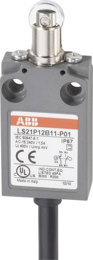 ABB LS21P12B11-P01 Eindschakelaar 400 V/AC 5 A Rolstoter schakelend IP67 1 stuks