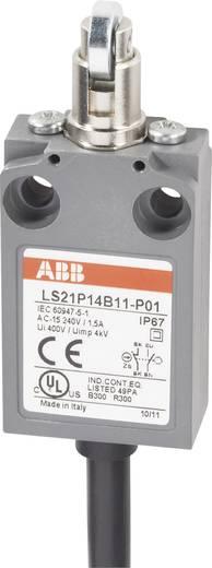 ABB LS21P14B11-P01 Eindschakelaar 400 V/AC 5 A Rolstoter schakelend IP67 1 stuks