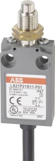 ABB LS21P21B11-P01 Eindschakelaar 400 V/AC 5 A Stoter met schroefdraad schakelend IP67 1 stuks