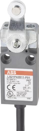 ABB LS21P42B11-P01 Eindschakelaar 400 V/AC 5 A Zwenkbare rolhefboom schakelend IP67 1 stuks