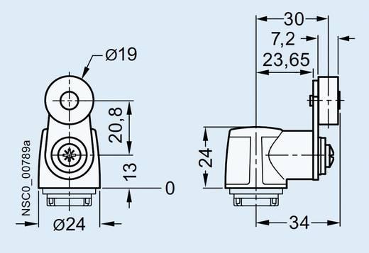 Siemens 3SE5000-0AA31 RVS hefboom Zwart 1 stuks