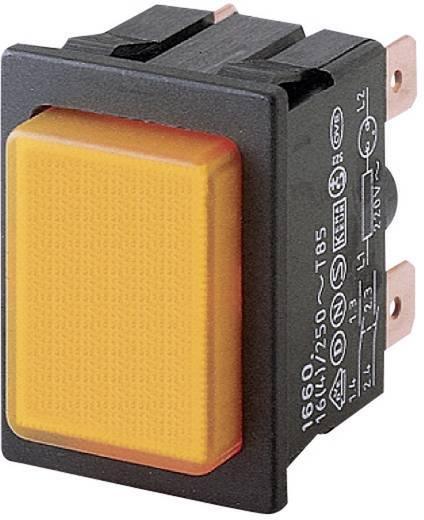 Marquardt 1660.0202 Drukschakelaar 250 V/AC 16 A 2x uit/aan IP40 vergrendelend 1 stuks