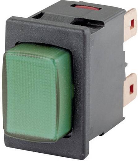 Marquardt 1687.1104 Drukschakelaar 250 V/AC 16 A 2x aan/uit IP40 vergrendelend 1 stuks