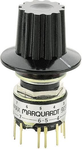 Marquardt 9037.0100 Draaischakelaar 28 V 0.014 A Schakelposities 12 1 x 30 ° 1 stuks