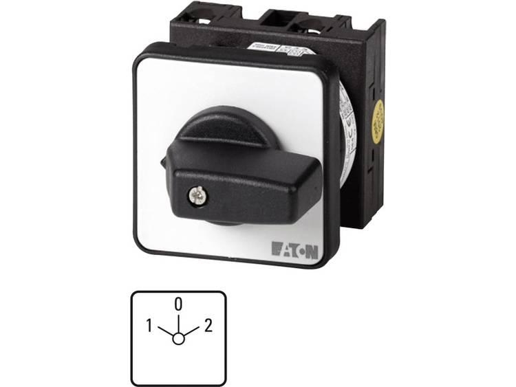 Nokkenschakelaar 20 A 690 V 2 x 30 ° Grijs, Zwart Eaton T0-3-8401/E 1 stuks