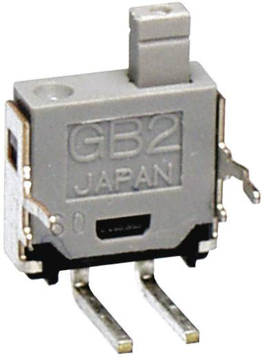 NKK Switches GB215AH Druktoets 28 V DC/AC 0.1 A 1x uit/(aan) schakelend 1 stuks