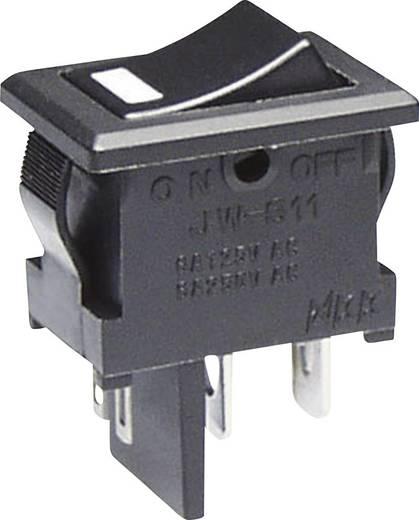 NKK Switches JWS11RAAC Wipschakelaar 250 V/AC 10 A 1x uit/aan vergrendelend 1 stuks