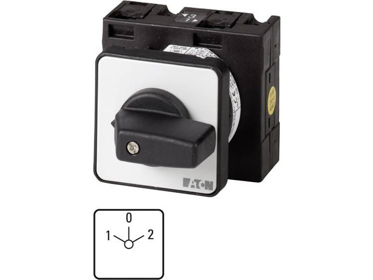 Nokkenschakelaar 32 A 690 V 2 x 30 ° Grijs, Zwart Eaton T3-3-8401/E 1 stuks