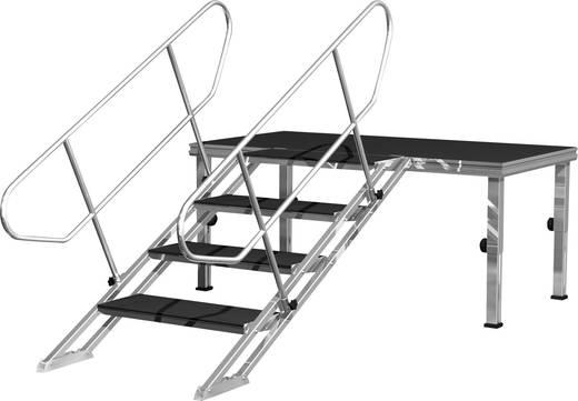 In hoogte verstelbare Alustage-trap 60 - 100 cm