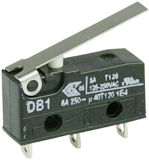 Cherry Switches DB1C-A1LC Microschakelaar 250 V/AC 6 A 1x aan/(aan) schakelend 1 stuks