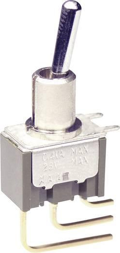 NKK Switches M2012S2A2W23 Tuimelschakelaar 250 V/AC 3 A 1x aan/aan vergrendelend 1 stuks