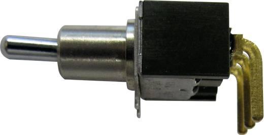 NKK Switches M2012S3S2G03 Tuimelschakelaar 28 V DC/AC 0.1 A 1x aan/aan vergrendelend 1 stuks