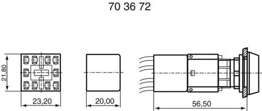 Connector RAFI 5.05510.421 1 stuks