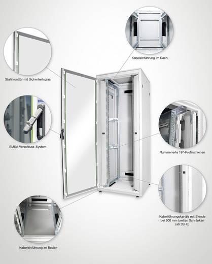 19 inch patchkast Digitus Professional DN-19 22u-6/6-1 (b x h x d) 600 x 1164 x 600 mm 22 HE Lichtgrijs (RAL 7035)