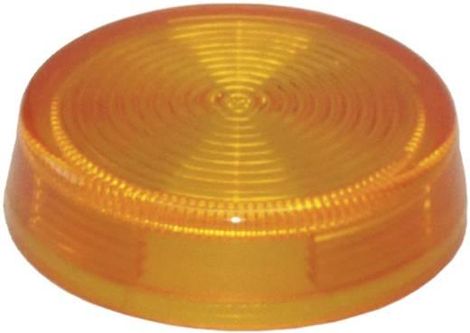 Idec IDEC YW-serie Bolkap Geribbeld (Ø x h) 29.8 mm x 8.5 mm Zonder markering Oranje 1 stuks