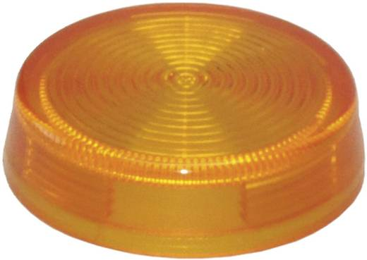 Idec IDEC YW-serie Bolkap Geribbeld (Ø x h) 29.8 mm x 8.5 mm Zonder markering Rood 1 stuks