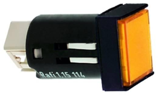 RAFI 1.15.114.906/0000 Druktoets 35 V 0.1 A 1x uit/aan IP65 schakelend 10 stuks