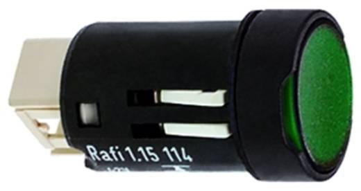 RAFI 1.15.114.936/0000 Druktoets 35 V 0.1 A 1x uit/aan IP65 schakelend 10 stuks