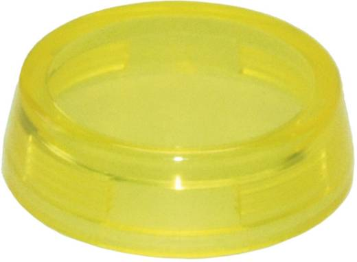 Idec IDEC YW-serie Bolkap Voor etikettering toepassingen (Ø x h) 29.8 mm x 9 mm Zonder markering Geel 1 stuks