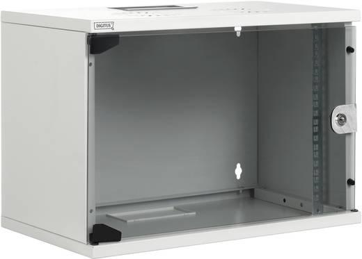 19 inch wandkast Digitus Professional DN-19 12-U-S-1 (b x h x d) 540 x 595 x 400 mm 12 HE Lichtgrijs (RAL 7035)